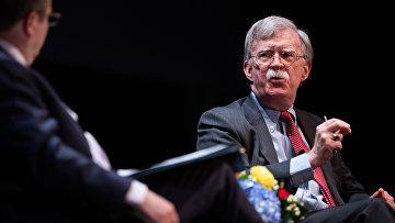 Бывший советник по национальной безопасности США Джон Болтон