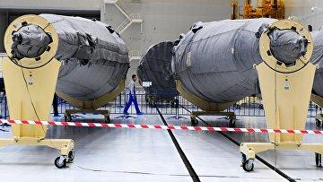 """Части ракет-носителей """"Союз-2"""""""