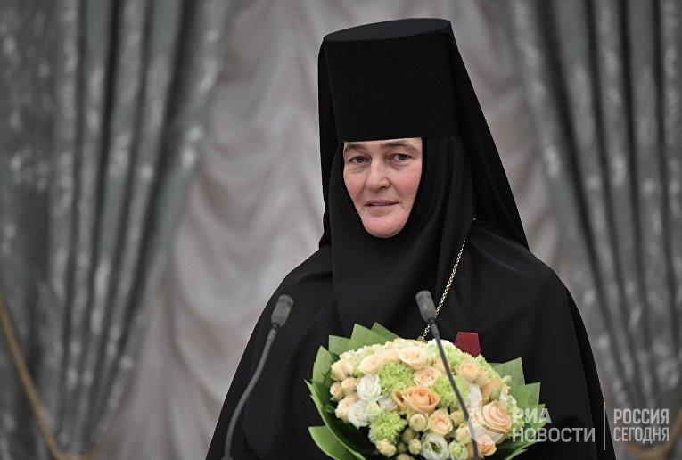 Настоятельница Покровского ставропигиального женского монастыря игумения Феофания