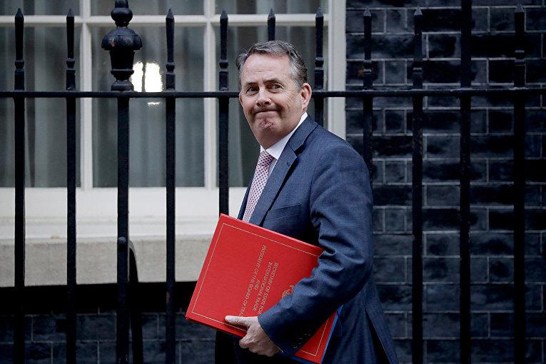 Бывший министр торговли Великобритании Лиам Фокс