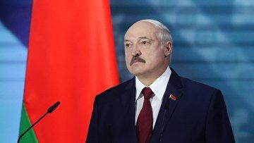 Обращение президента Белоруссии А. Лукашенко накануне президентских выборов