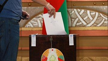 Выборы президента Белоруссии 9 августа