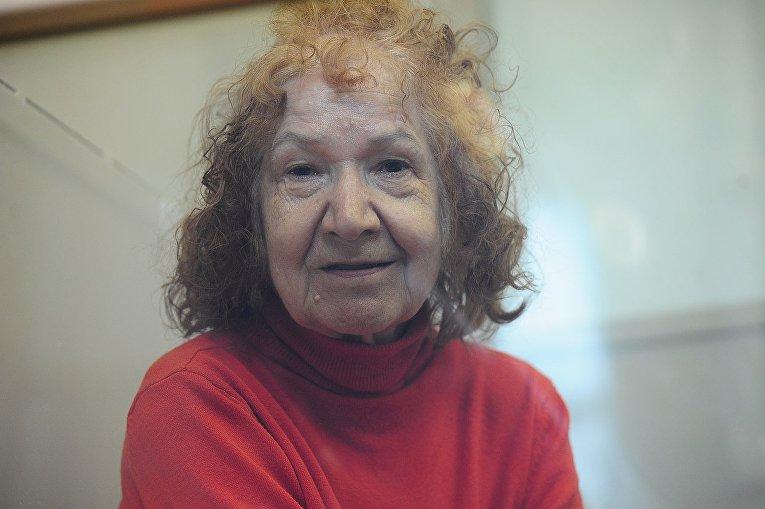 Тамара Самсонова во Фрунзенском районном суде Санкт-Петербурга, 2015