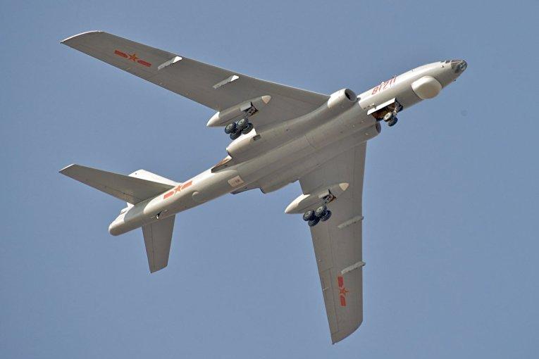 Китайский бомбардировщик Xian H-6M