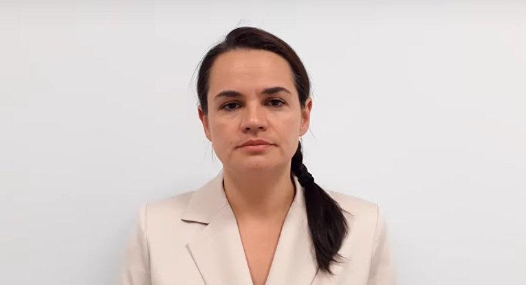 Тихановская: призываю власть прекратить насилие и пойти на диалог