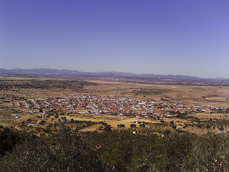 Город Эррера-дель-Дуке в Испании