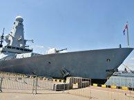 """Британский эсминец """"Дункан"""" в морском порту Одессы во время международных учений """"Си Бриз - 2019"""""""