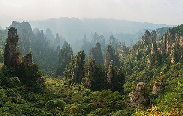 Национальный лесной парк Чжанцзяцзе в Китае