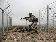 Военные учения в Новороссийске