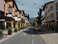 Город Тельфс в Австрии