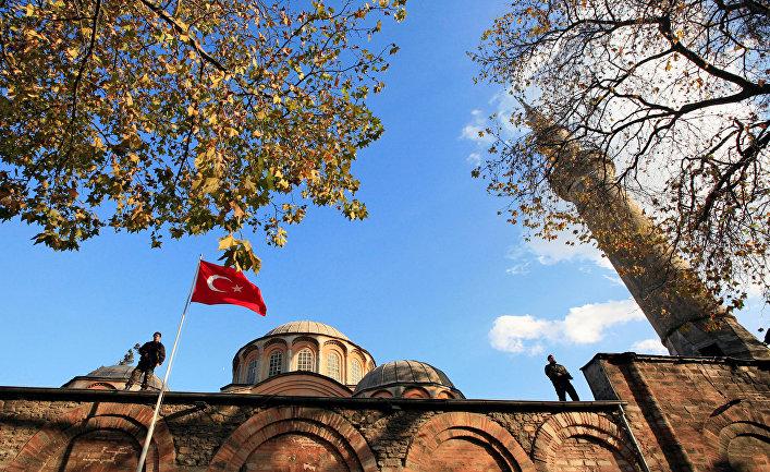 Монастырь Хора в Стамбуле