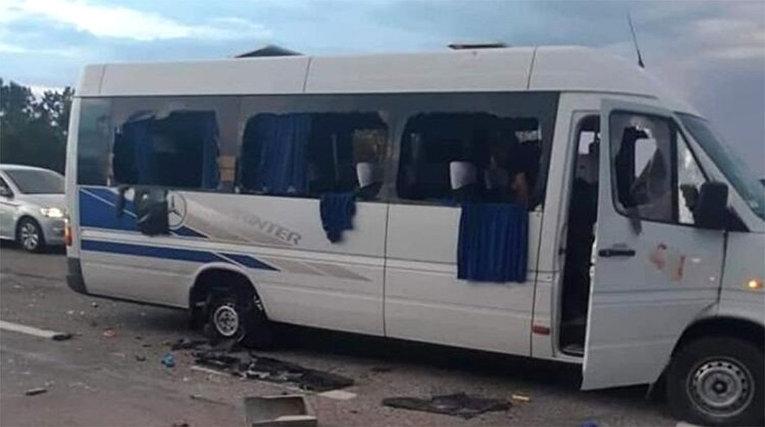 Расстрел автобуса под Харьковом
