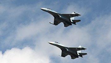 Истребители Су-27