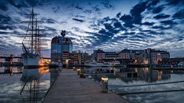 Порт Гётеборга, Швеция