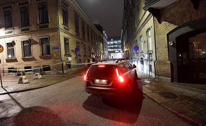Полиция в Гетеборге