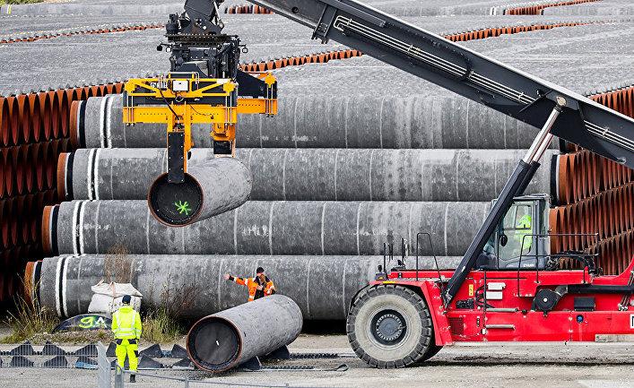 Трубы для газопровода Nord Stream 2