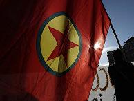 Флаг Рабочей партии Курдистана