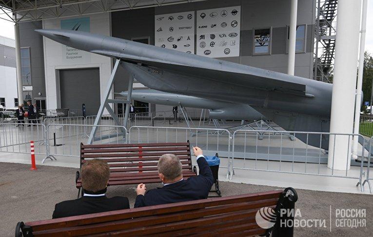 """Стратегическая крылатая ракета """"Метеорит"""" на форуме """"Армия-2020"""""""