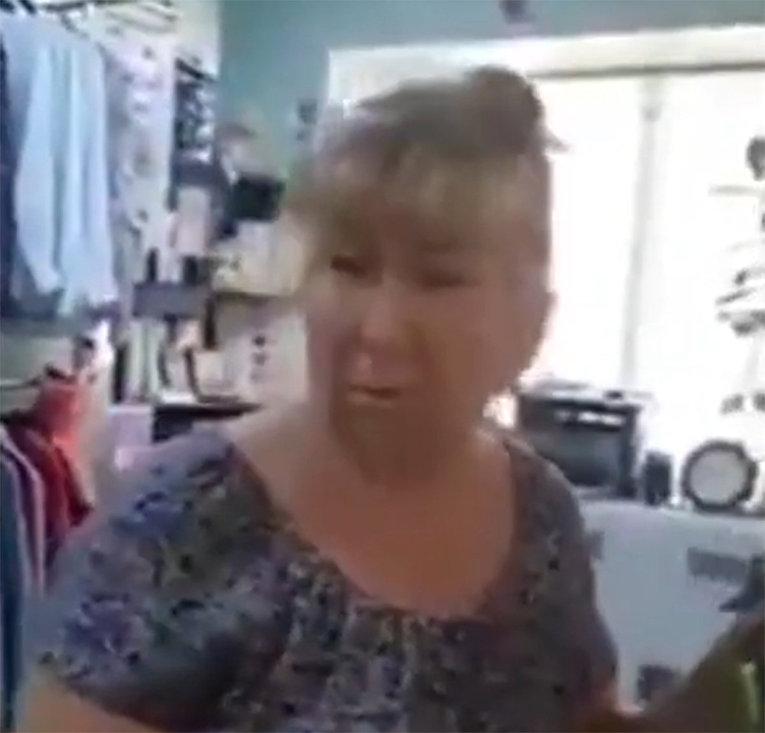 Жительница Кривого Рога сказала в глаза украинским карателям кто они