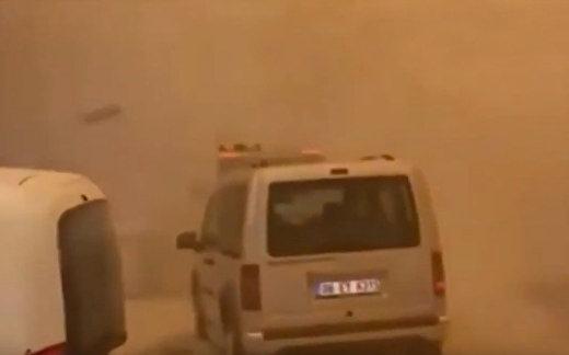 Песчаная буря в Анкаре