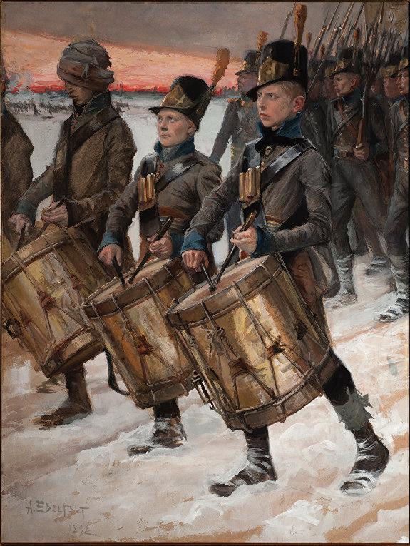 Финские солдаты в войне 1808-1809 годов