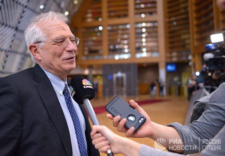 Верховный представитель Евросоюза по иностранным делам и политике безопасности Жозеп Боррель