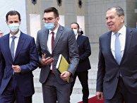 Визит министра иностранных дел РФ С. Лаврова в Сирию