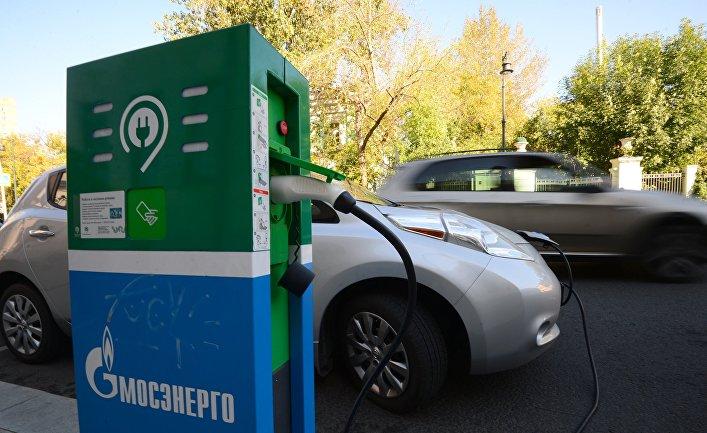 Зарядка электромобилей на Малой Дмитровке в Москве