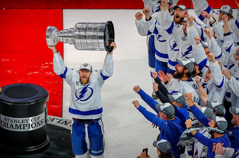 28 сентября 2020. Tampa Bay Lightning выигрывает Кубок Стэнли