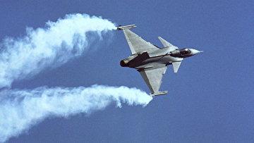 Шведский истребитель Saab JAS-39 Gripen