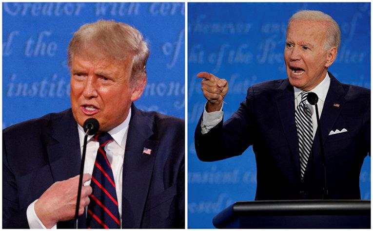 Дебаты Джо Байдена и Дональда Трампа