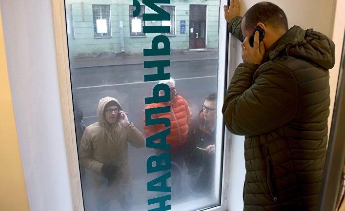 Открытие штаба Алексея Навального в Санкт-Петербурге
