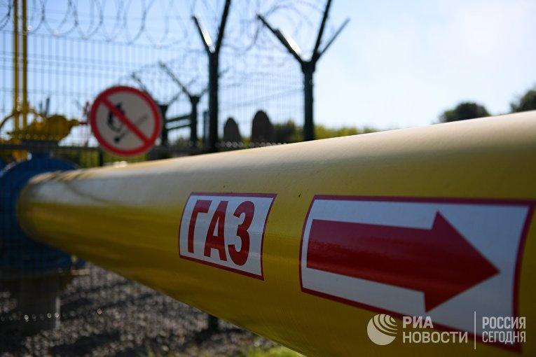 Газопровод высокого давления от Елабуги до Нижнекамска