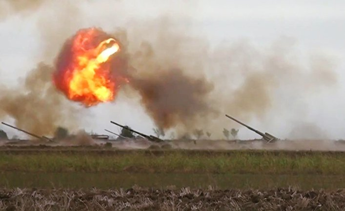 Военный конфликт в Карабахе