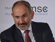 Премьер-министр Армении Никол Пашинян на Мюнхенской конференции по безопасности