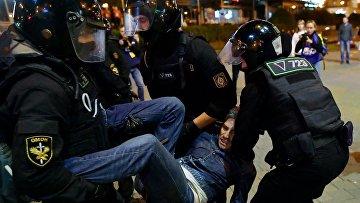 Акции протеста оппозиции в Минске