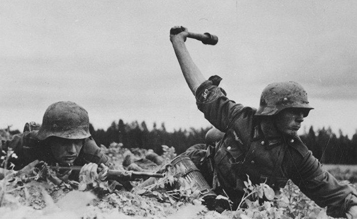 Немецкие пехотинцы
