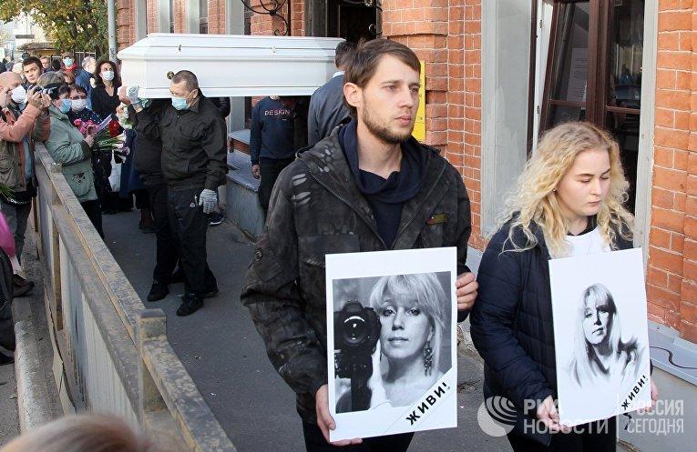 Нижегородский губернатор почтил память журналистки И. Славиной