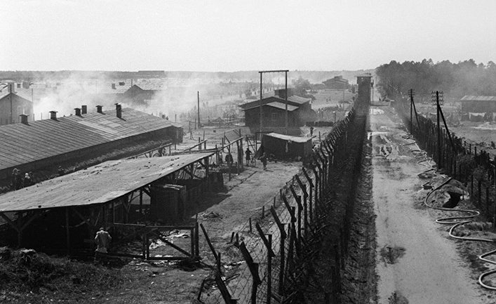 Нацистский концентрационный лагерь Берген-Бельзен