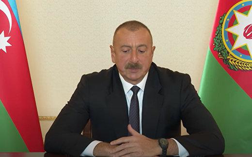 Интервью Ильхама Алиева телеканалу Sky News, 9 октября 2020