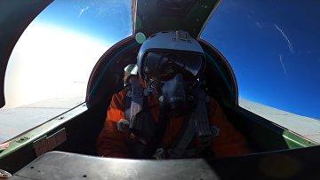 Су-31 провел воздушный бой в стратосфере
