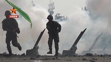 Военные учения КНР