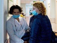 Вакцинация врачей от коронавируса в Сестрорецке