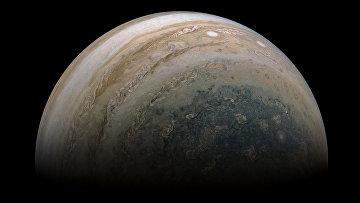 Один из полюсов Юпитера