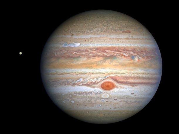 Юпитер каким мы его знаем