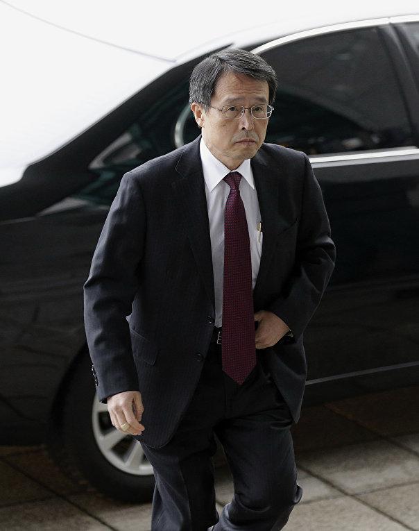 Чрезвычайный и полномочный посол Японии на Украине Такаши Кураи