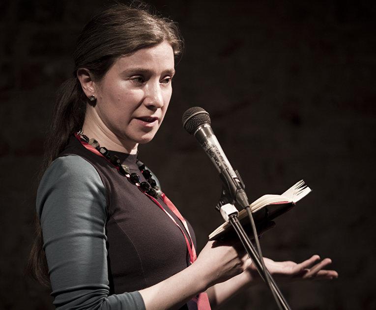 23 июня 2017. Екатерина Шульман читает доклад на мероприятии «АнтиСталин» в Сахаровском центре