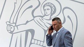 Мэр Киева Виталий Кличко