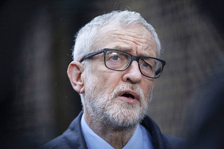 Британский политик Джереми Корбин