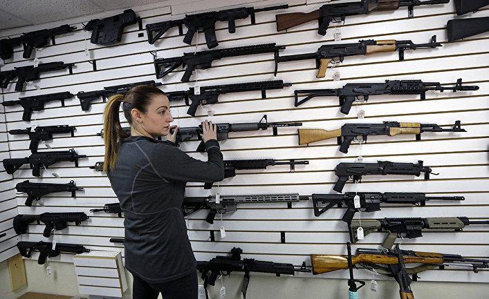 Оружейный магазин в Линвуде